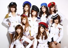 SNSD (Girls' Generation) is my favorite girl group!  These girls are so talented, affectionate, and best of all...dorky! :D  Their songs and TV appearances always put me in a good mood!