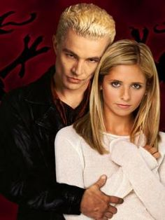 Buffy & Spike <3 I don't necessarily think they should be together, but I LOVE this pairing because they are so freaking fun to watch.
