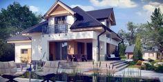 Proiect casa parter si mansarda - Smart Home Concept Novi Sad, Design Case, Style At Home, Smart Home, Home Fashion, Beautiful Homes, Places To Visit, Construction, House Design