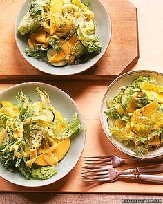 Pear and Frisee Salad with Bacon and Blue Cheese | Recipe | Blue ...