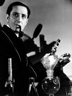 Basil Rathbone as Sherlock Holmes,, simply of of the best actors to portray Sherlock to date.