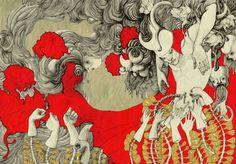 fusion by Lina Kusaite, via Behance
