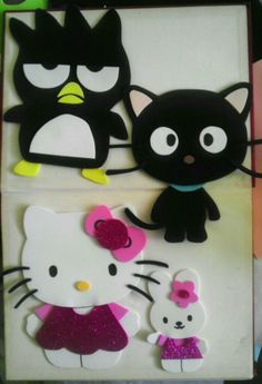Bello kitty foami characters