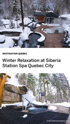 Siberia Station Spa - luxury Scandinavian spa just outside Quebec City