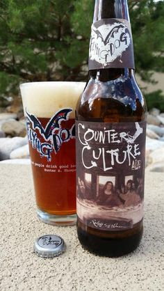 BrewChief.com Review of Counter Culture (Flying Dog Brewing Co.) : For this review, I thought I would have a little fun. I'm going to be discussing Flying Dog's latest creation entitled Counter Culture, a beer that defies classification. That's not me being clever or existential, it's actually how the beer is marketed. Flying Dog describes this beer as ''a uniquely robust malt-forward ale our hop-centric brewers spent over two years developing''. They even go so far as to adorn the bottle...