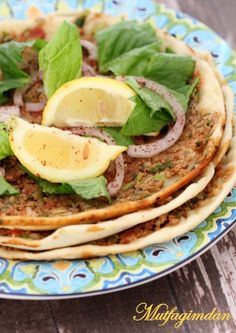 Ev Yapimi Lahmacun Mexican, Eat, Ethnic Recipes, Pizza, Drink, Food, Rezepte, Beverage, Drinking