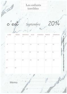 calendrier septembre1
