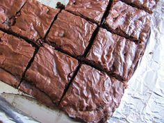 Alice and the Mock Turtle: Chewy Chocolate Chip Brownies