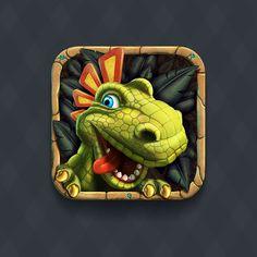 Ícones iOS realistas de babar!