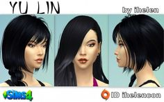 Ihelen Sims: Yu Lin by ihelen • Sims 4 Downloads