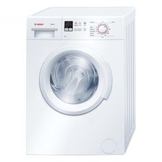 Bosch 300 Series 24 Inch Compact Washer with cu. Capacity, 15 Programs, 1400 RPM, SpeedPerfect Option, Stainless Steel Drum and EcoSilence Motor in White White Washing Machines, Bosch Washing Machine, Compact Laundry, Stainless Steel Drum, Laundry Appliances, Bosch Appliances, Front Load Washer, Laundry Room Storage, Cooking
