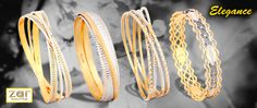 Exciting range of Elegance bangles by ZarJewels that will take your breath away!!