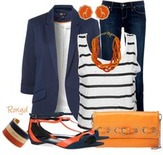 """Casual Work Wear"" by roxyd ❤ liked on Polyvore"