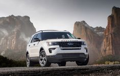 The other is a full size SUV 2018 Ford Explorer. The car is the next generation produced by the American manufacturer Ford. The original model was released Ford Explorer Sport, Ford Explorer Hybrid, Ford Explorer Price, Ford Transit, Cheap Sports Cars, Ford Focus, Sport Trac, Nissan Navara, Ford Fusion