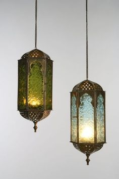 Lanterns from India Market...for an outdoor patio..