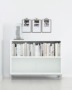 STUA Sapporo storage system. White minimal design to keep it all. Sapporo is always white, it can stack as many units as you want, and has sliding doors on the front.