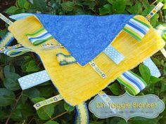 DD Kimball Road: DIY Taggie Blanket (Baby Craft)