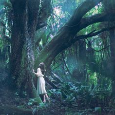 Find images and videos about girl, nature and tree on We Heart It - the app to get lost in what you love. Story Inspiration, Writing Inspiration, Character Inspiration, Surrealism Photography, Fantasy Photography, Tree Photography, Lumiere Photo, Foto Art, Foto Pose