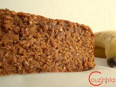 Couzinista: Light κέικ μπανάνας χωρίς ζάχαρη Banana Bread, Recipies, Food And Drink, Diet, Desserts, Cakes, Recipes, Tailgate Desserts, Deserts
