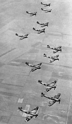 Spitfire Mk1s 19 Squadron 1938 /1939