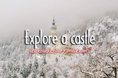 I do like castles :)