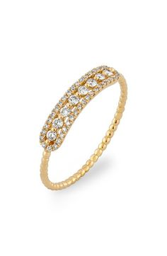 Bony Levy Bar Diamond Ring (Nordstrom Exclusive) available at #Nordstrom