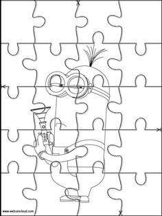 Puzzles Rompecabezas para imprimir para niños Halloween 20