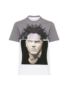 NEIL BARRETT Neil Barrett Spliced T-shirt. #neilbarrett #cloth #https: