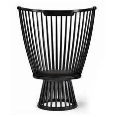 Fan Chair - Black by Tom Dixon