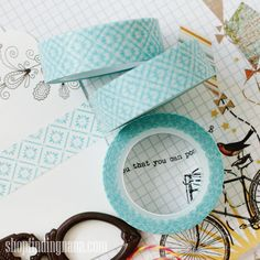 Blue Quartz Washi | Findingnana Shop