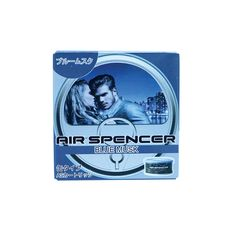 Air Spencer Blue Musk Air Freshener, Packing, Blue, Bag Packaging