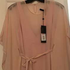Bcbgmaxazria New With Tags size xxs Bcbg flowy pale pink dress in size xxs new with tags never worn BCBGMaxAzria Dresses Maxi