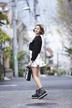 Hyeri of Girls Day!  #streetstyle