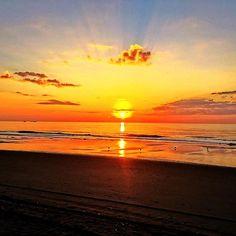 Myrtle Beach South Carolina Sunrise Photo Via Instagram By Zgoins
