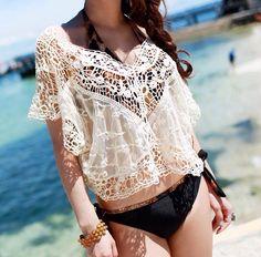 Chic beach coverup, Lookbook Boutique