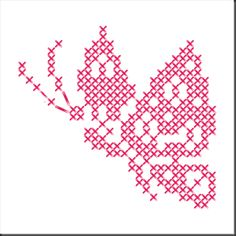 Voir l'article pour en savoir plus. Butterfly Cross Stitch, Cross Stitch Love, Cross Stitch Animals, Cross Stitch Flowers, Cross Stitch Designs, Cross Stitch Patterns, Cross Stitching, Cross Stitch Embroidery, Bead Loom Designs