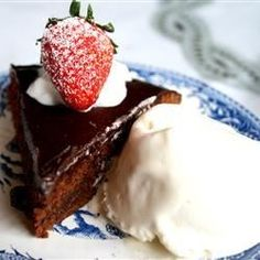 "Brownie Torte I ""This torte was outstanding and very easy to prepare!"""