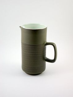 Denby Chevron Camelot Two Pint Pitcher Designed by by bitofbutter, $65.00