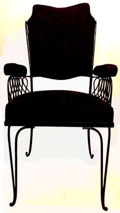 Rene PROU set of Four Chairs and 2 armchairs image 9
