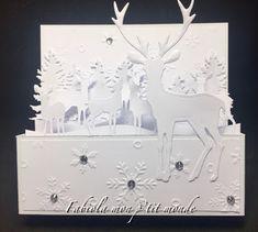 mon p'tit monde Caran D'ache, Winter Wonderland, Cards, Home Decor, Romantic Scenes, Brown Paint, Bristol Board, Decoration Home, Room Decor