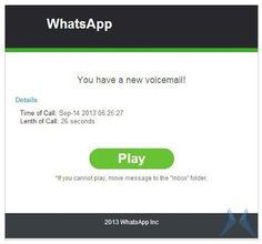 Now fake WhatsApp messages are in circulation, which have malware as an attachment, this false WhatsApp mail will install a Trojan