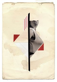 Handmade Collages 2012 by Molokid, via Behance