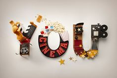 Wonderful 3D Typography Show The Delights To Be Experienced In Cities - DesignTAXI.com