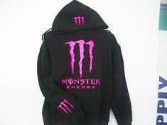 Pink Monster hoodie :)