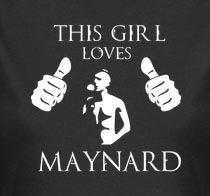 This girl loves maynard james keenan