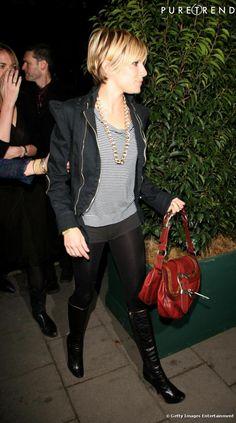 En 2006, Sienna Miller porte déjà la marinière. Pour féminiser sa ...