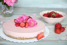 Délices de petite Mary: Jahodový nepečený cheesecake
