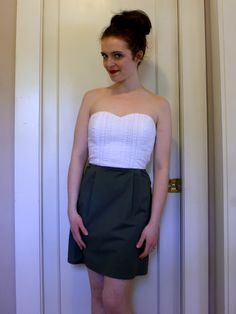 Adventures in Dressmaking: Totally recycled dress time! Don't worry, it turned out well.