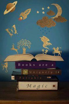 """""""Como é adorável passar a tarde assim! Garanto que não há nada mais divertido que ler! Tudo cansa, menos um livro! Quando tiver a minha própria casa, não serei feliz até ter uma excelente biblioteca!""""  Orgulho e Preconceito - Jane Austen, p. 269"""