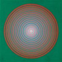 Gradazione verde + rosso 16P by Marina Apollonio